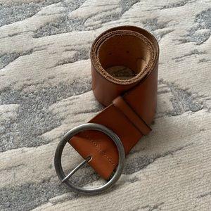 American Eagle💕Cognac Leather Boho Classic Belt M